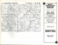 Maiden Rock T24N-R15W, Pierce County 1960
